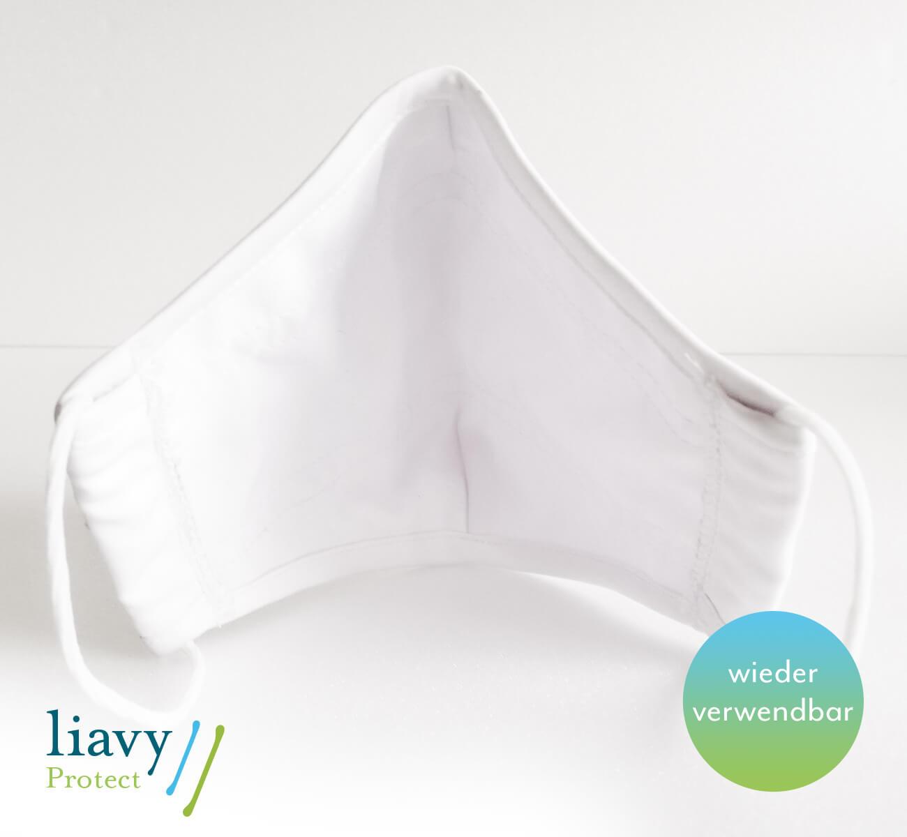 Hochwertige atmungsaktive und wasserabweisende Mund-Nasen-Maske sind wieder verwendbar