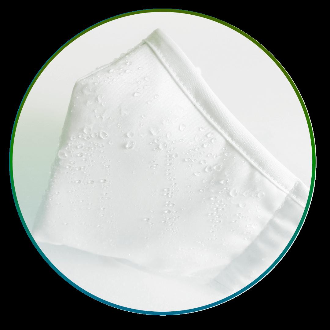 Hochwertige atmungsaktive und wasserabweisende Mund-Nasen-Maske